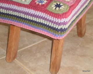 Stool cover 068
