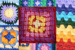 Crochet p